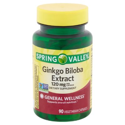 Spring Valley Ginkgo Biloba Extract