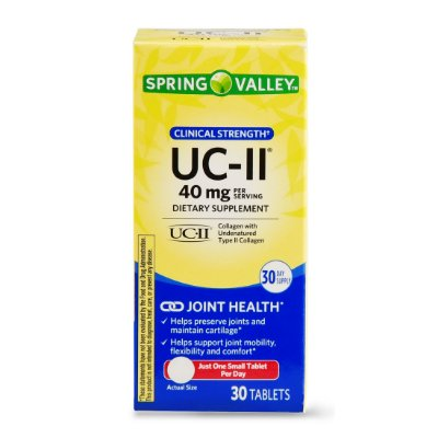 Spring Valley UC-II Clinical Strength Tablets