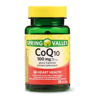 Spring Valley CoQ-10 plus L-Carnitine Softgels