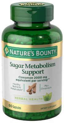 Nature's Bounty Sugar Metabolism Support