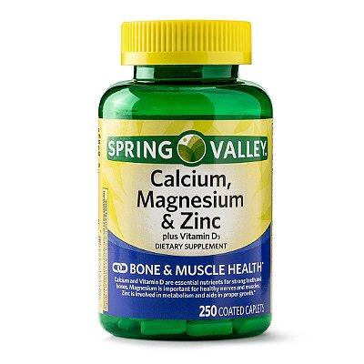 Spring Valley Calcium, Magnesium & Zinc