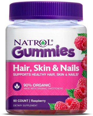Natrol Hair Skin & Nails Gummies