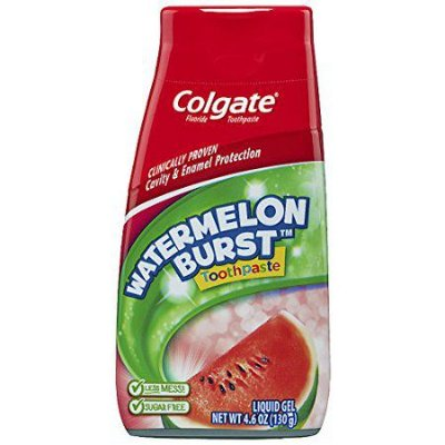 Colgate Fluoride Toothpaste Liquid Gel