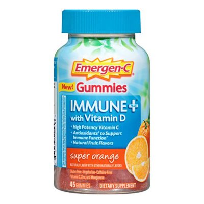 Emergen-C Immune+ Vitamin C Gummies