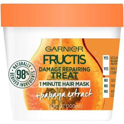 Garnier Fructis Damage Repairing Treat Papaya 1 Minute Hair Mask