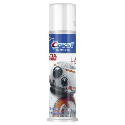 Crest Kid's Cavity Protection Toothpaste Pump Blue Bubblegum