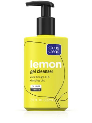 Clean & Clear Lemon Gel Cleanser with Vitamin C