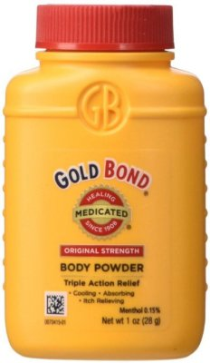 Gold Bond Medicated Body Powder Original Strength Travel Size
