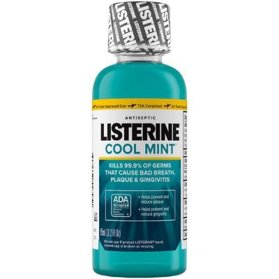 Listerine Cool Mint Antiseptic MouthWash Travel Size