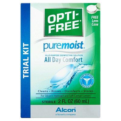 Opti-Free PureMoist All Day Comfort Multi-Purpose Disinfecting Solution Trial Kit