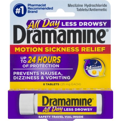 Dramamine All Day Motion Sickness Relief Tablets