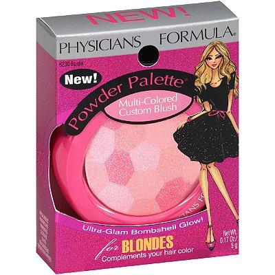 Physicians Formula Powder Palette Multi-Colored Custom Blush 6230 Blondes