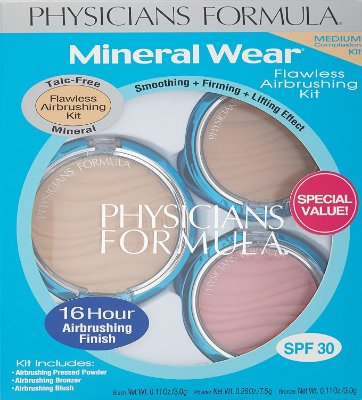 Physicians Formula Mineral Wear Flawless Airbrushing Kit