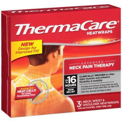 ThermaCare Heatwraps Neck Wrist Shoulder