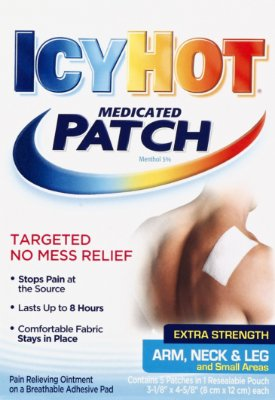 Icy Hot Extra Strength Arm Neck and Leg Medicated Patch