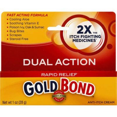 Gold Bond Medicated Rapid Relief Anti-Itch Cream
