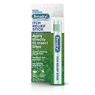 Benadryl Extra Strength Itch Relief Stick, Travel Size
