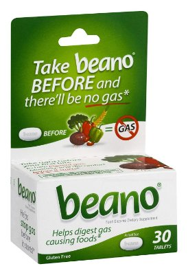 Beano Gas Prevention, Bloating Relief