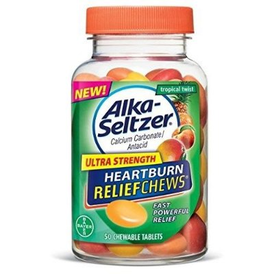 Alka-Seltzer Ultra Strength Heartburn Relief Chews Tropical Twist