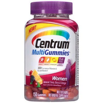 Centrum MultiGummies Women Multivitamin/Multimineral Supplement Gummies