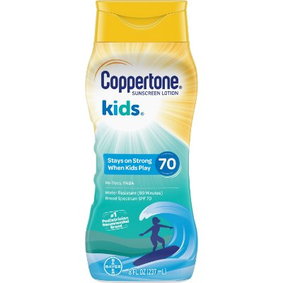 Coppertone Kids Sunscreen Water Resistant Lotion SPF 70