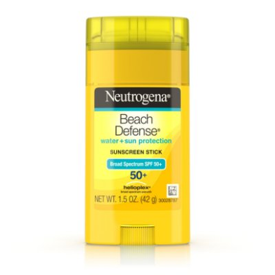 Neutrogena Beach Defense Oil-Free Sunscreen Stick SPF 50+