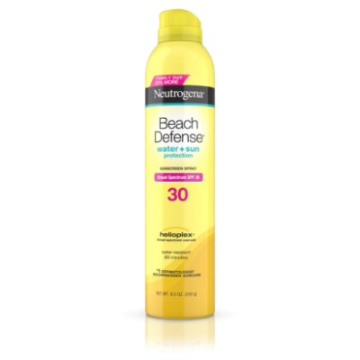 Neutrogena Beach Defense Spray Body Sunscreen, SPF 30