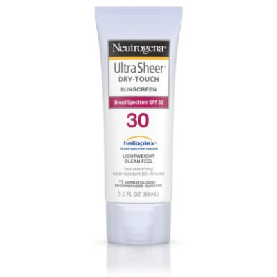 Neutrogena Ultra Sheer Dry-Touch Water Resistant Sunscreen SPF 30
