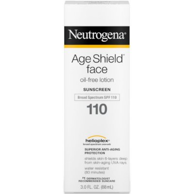 Neutrogena Age Shield Face Oil Free Lotion Sunscreen SPF 110