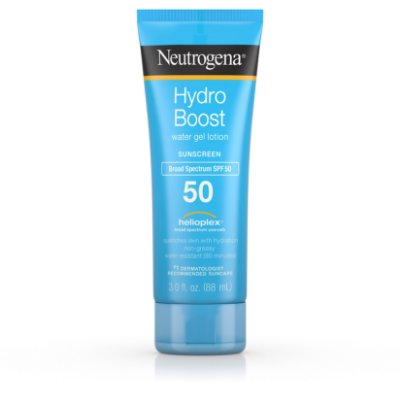 Neutrogena Hydro Boost Gel Moisturizing Sunscreen Lotion