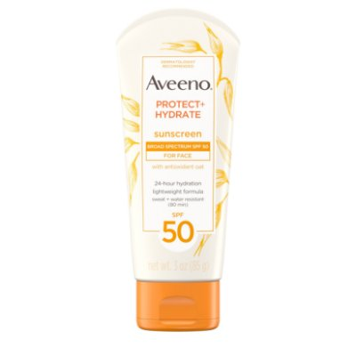 Aveeno Protect + Hydrate Face Sunscreen Lotion