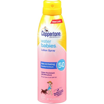 Coppertone WaterBabies Sunscreen Quick Cover Spray SPF 50