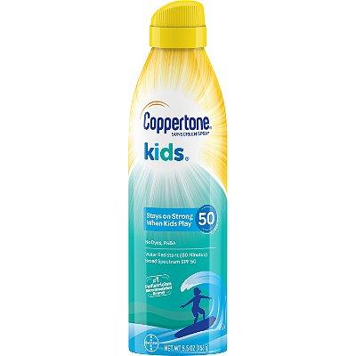 Coppertone Kids Sunscreen Water Resistant Spray SPF 50
