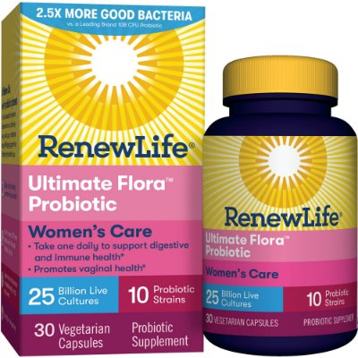 Renew Life Women's Probiotic - Ultimate Flora Probiotic Women's Care