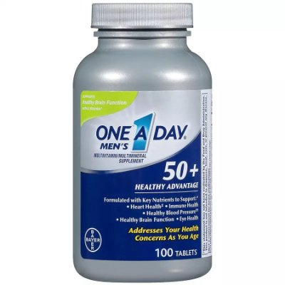 One A Day Men's 50+ Advantage Tablets
