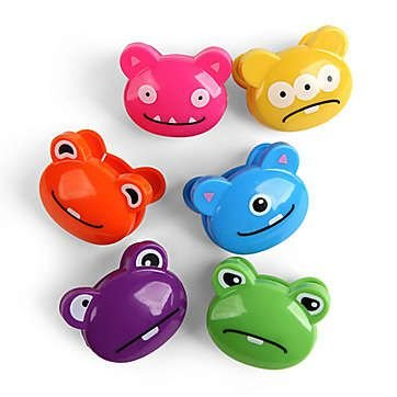 Kikkerland Monster Bag Clips