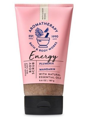 Energy Plumeria Mandarin Sand & Sea Salt Body Scrub