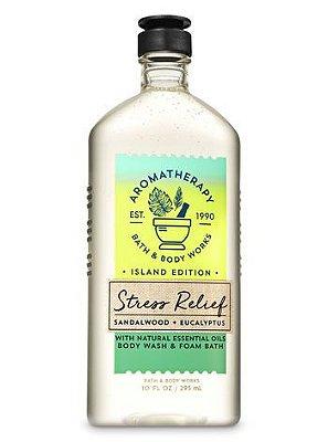 Stress Relief Sandalwood Eucalyptus Body Wash & Foam Bath