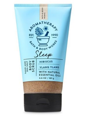 Sleep Hibiscus Ylang Ylang Sand & Sea Salt Body Scrub
