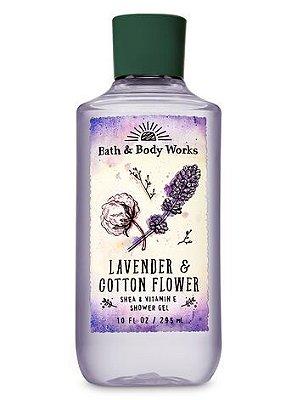 Lavender & Cotton Flower Shower Gel