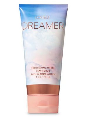 Lovely Dreamer Exfoliating White Clay Body Scrub