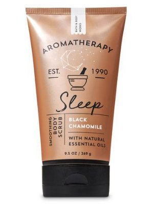 Sleep Black Chamomile Smoothing Body Scrub