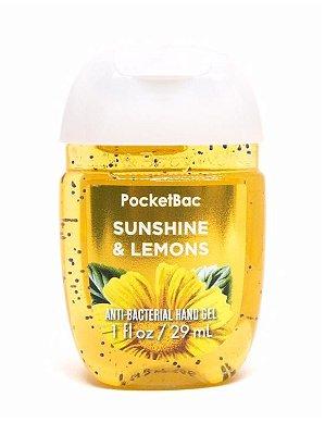 Sunshine & Lemons Pocketbac Anti-Bacterial Hand Gel