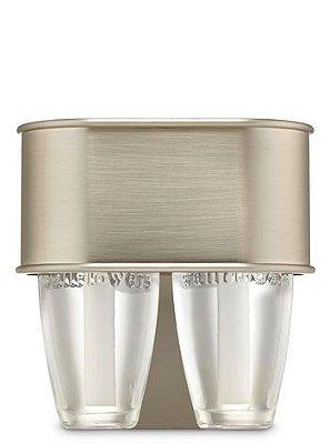 Satin Nickel Nightlight Wallflowers Fragrance Duo Plug