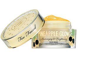 Too Faced Tutti Frutti Pineapple Glow Moisturizing & Brightening Face Mask