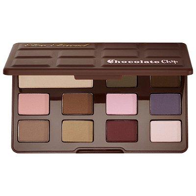 Too Faced Matte Chocolate Chip Eyeshadow Palette - Edição Limitada