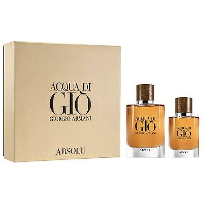 Giorgio Armani Beauty Acqua Di Gio Absolu Gift Set - Edição Limitada