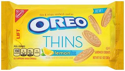 Nabisco Oreo Lemon Creme Sandwich Thin Cookies