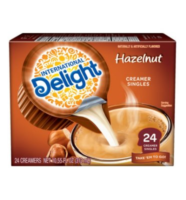 International Delight Hazelnut Creamer Singles