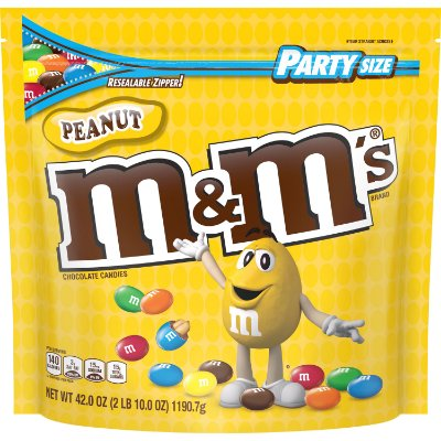 M&M'S Peanut Chocolate Candy Party Size